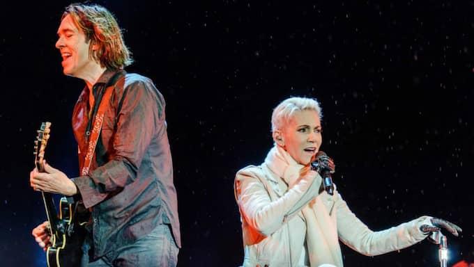 Marie Fredriksson och Per Gessle har varit på turné i över åtta månader Foto: Viktor Wallström/Rockfoto