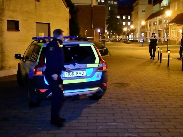 Explosion vid polishuset i Staffanstorp