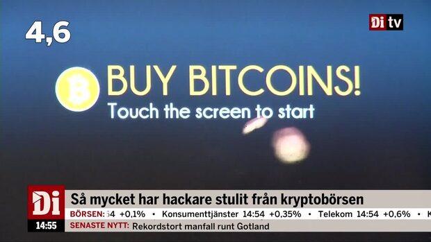 Dagens siffra: Så mycket har hackare stulit från kryptobörsen
