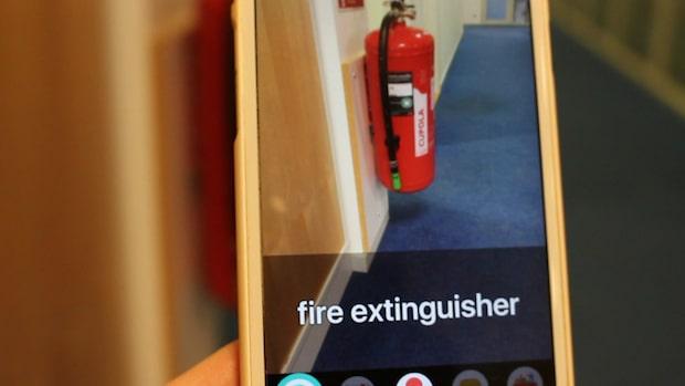 """Appen hjälper synskadade personer att """"se"""" - så fungerar den"""