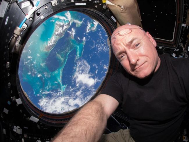 <span>Astronauten Scott Kelly har tillbringat ett år i rymden med sin kollega Mikhail Korniyenko. <br></span>