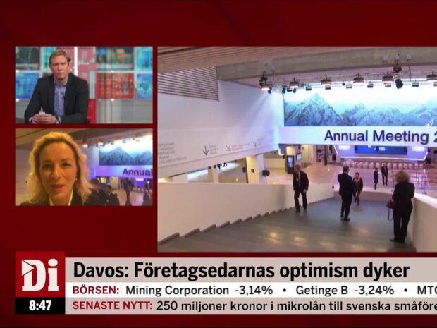 Davos: Konjunktur och näringsliv i fokus