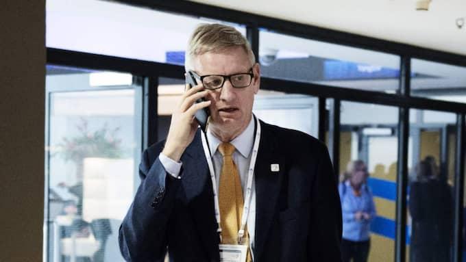 """""""Jag tror att så länge vi har enighet inom EU och inom Nato, så begränsar det hans möjligheter högst avsevärt"""", säger Bildt om Putin. Foto: Anna-Karin Nilsson"""