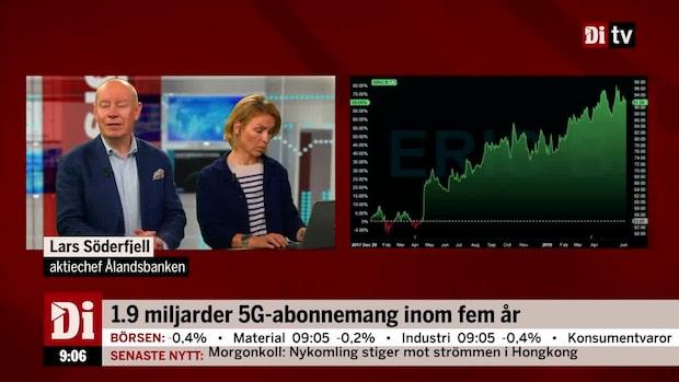 """Söderfjäll om Ericsson: """"Tveksam till möjligheterna att skapa tillväxt"""""""