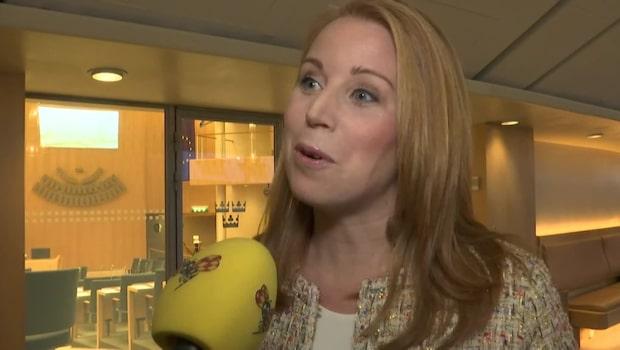 Annie Lööf om årets första partiledardebatt