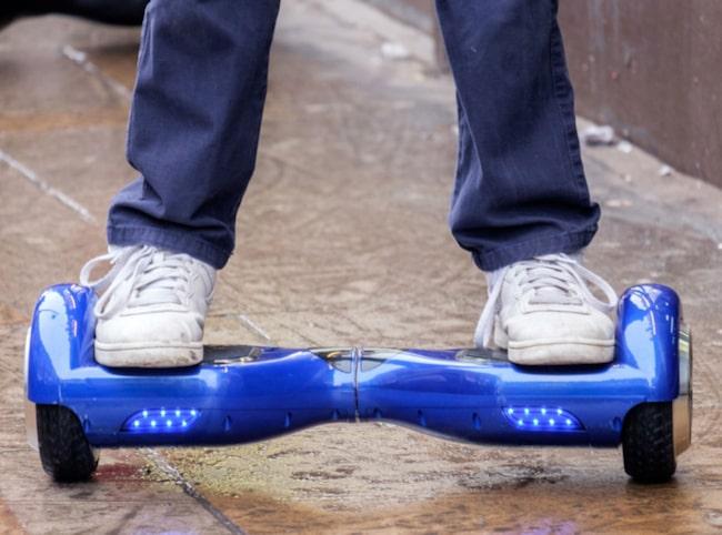 En hoverboard räknas som cykel – och då gäller samma regler.