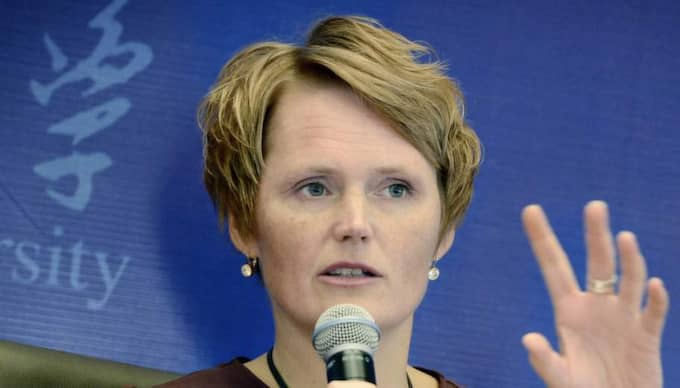 IT- och energiminister Anna-Karin Hatt. Foto: Robban Andersson