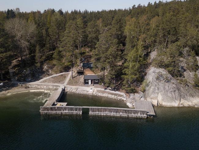 Sälstationen under andra världskriget öppnas nu för turister.