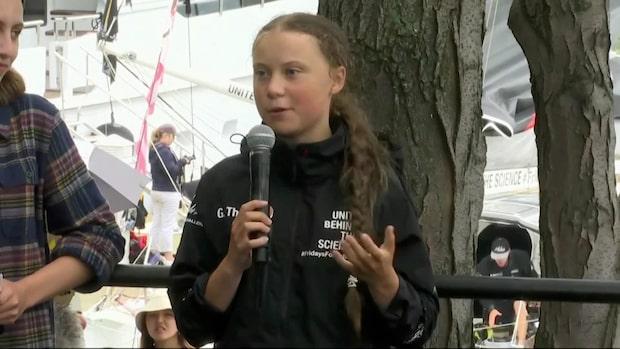 Se hela Greta Thunbergs tal