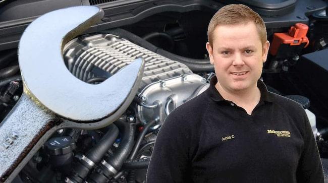 Jonas Carlsson, ALLT OM BILARS mekanikerexpert.