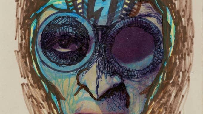Ett verk av Freddie Wadling. Foto: GÖTEBORGS STADSMUSEUM