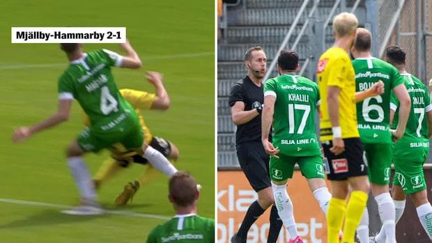 """""""Fyra poäng på fem matcher – det gnisslas i Hammarby"""""""