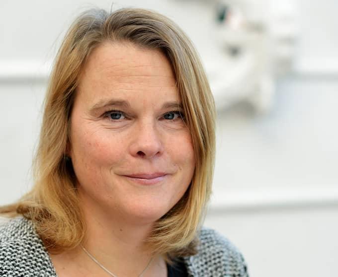 Pia Berglund, vice vd och chef för näringspolitik på föreningen Svensk Sjöfart. Foto: Svensk Sjöfart