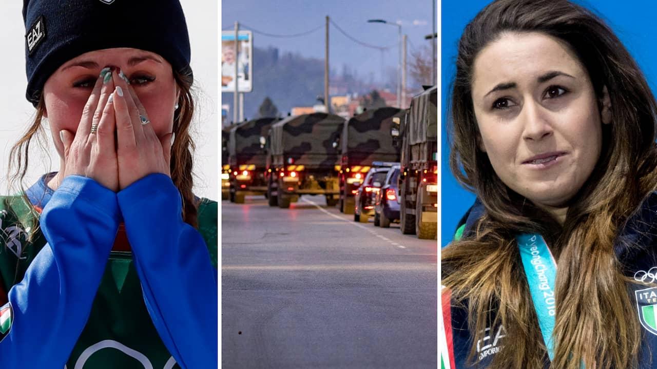 """Staden är helt övergiven – bara ambulanser hörs"""""""