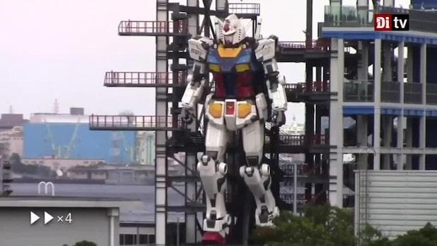 Sista raden: Japansk jätterobot på 18 meter