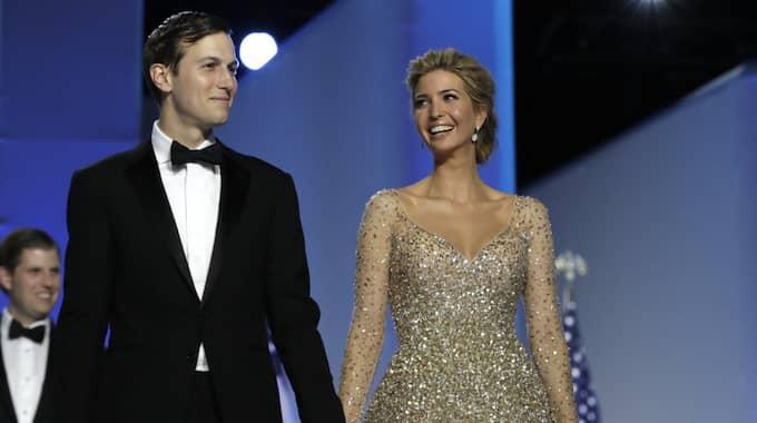 Jared Kushner och Ivanka Trump. Foto: Alex Brandon / AP TT NYHETSBYRÅN