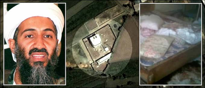 Under mer än femton år hade Usama bin Ladin gäckat USA. Natten mot måndagen sköts han ihjäl i en bostad i Pakistan. Foto: Stella och Reuters
