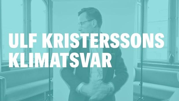Ulf Kristerssons klimatsvar - på tre minuter