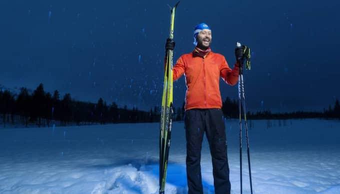 Efter sju månaders träning, nu senast i Finland, har 36-årige Paul Bragiel gått ner 15 kilo, byggt muskler och odlat ett ordentligt skägg. Foto: Mikael Sjöberg