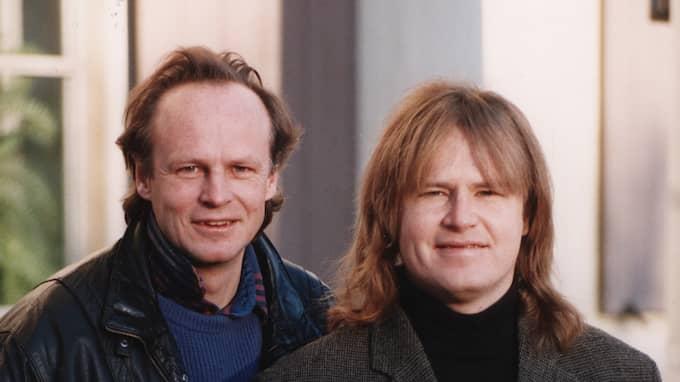 Kenneth Gärdestad, tillsammans med sin bror Ted 1995. Foto: BO BERGMAN / IBL