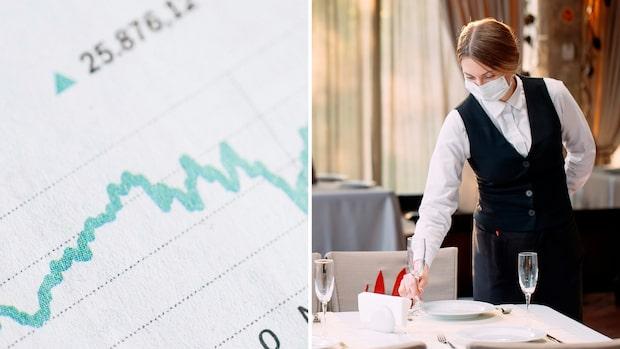 Tomt kring borden – siffrorna pekar ner