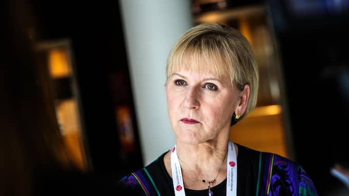 Utrikesminister Margot Wallström. Foto: HENRIK JANSSON
