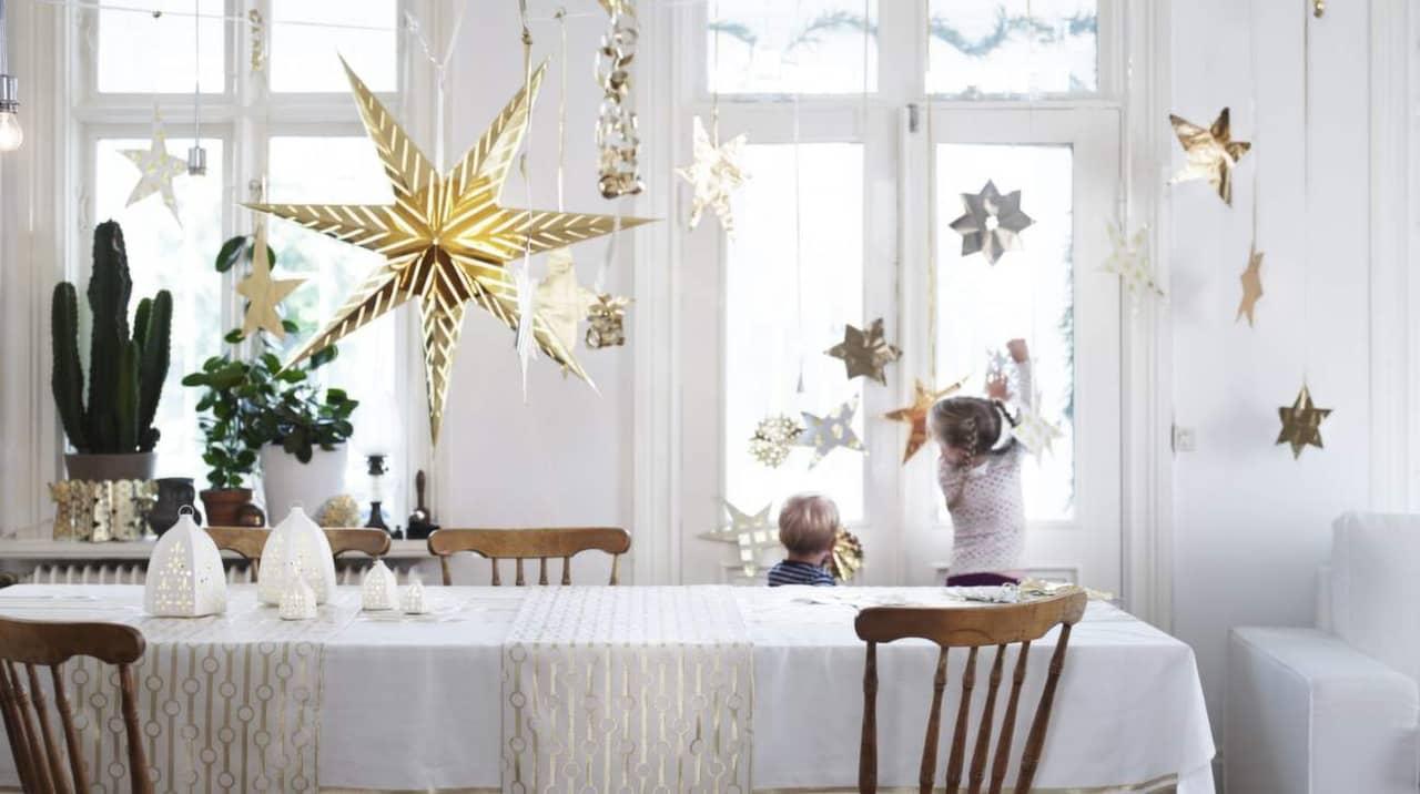 Julstj rna tips p 8 fina adventsstj rnor leva bo - Weihnachtstischdeko silber ...