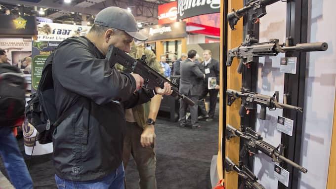 Vapenmässa i USA. Foto: / AP / TT / NTB Scanpix