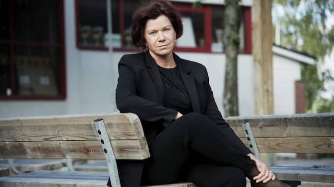 Jimmie Åkessons svärmor Margareta Larsson lämnar partiet – och blir politisk vilde i riksdagen. Foto: Olle Sporrong