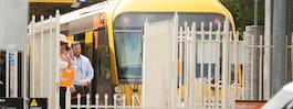 Flera skadade efter tågkrasch i Sydney