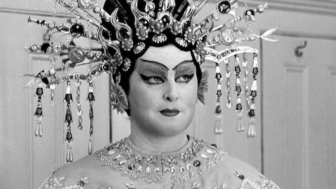 Birgit Nilsson i huvudrollen på Metropolitan 1961. Foto: Dan Grossi