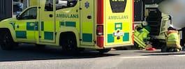 JUST NU: Cyklist död efter krock med lastbil