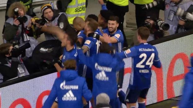 Höjdpunkter: Frankfurt – Schalke