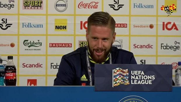 """Jansson försvarar Olsen efter tabben: """"Väldigt slumpartat"""""""