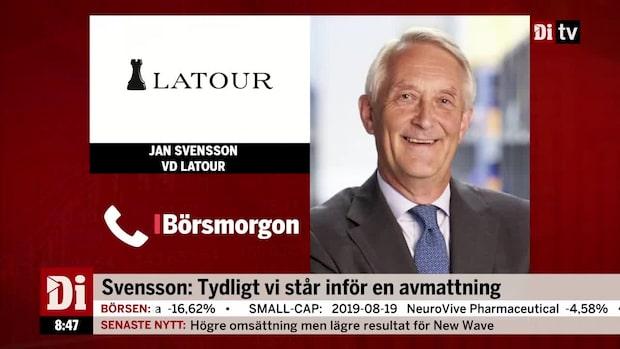Jan Svensson lämnar Latour efter 16 år som vd