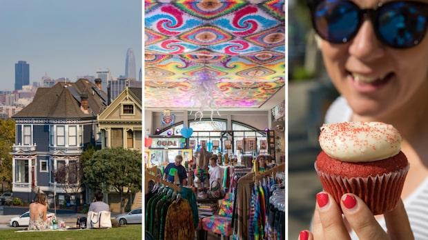 San Francisco - kaféer och shopping