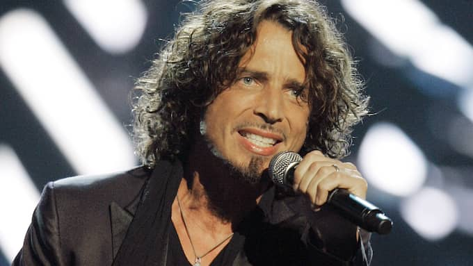 Chris Cornell under ett uppträdande i New York 2008. Foto: JEFF CHRISTENSEN/AP