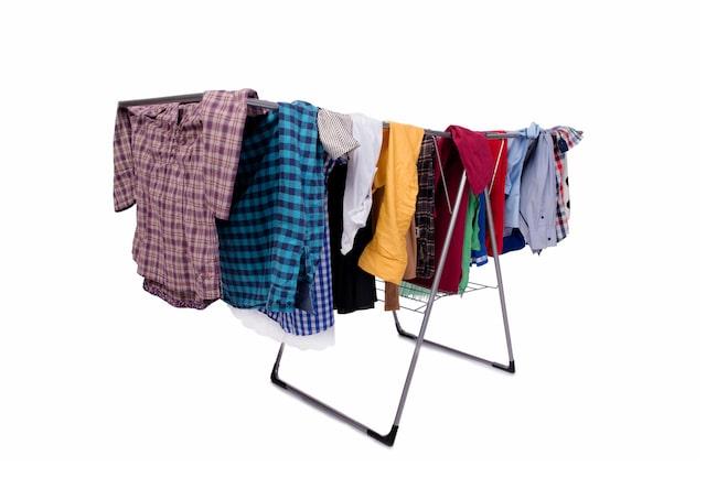 Att torka tvätten inomhus kan orsaka massor av hälsoproblem...