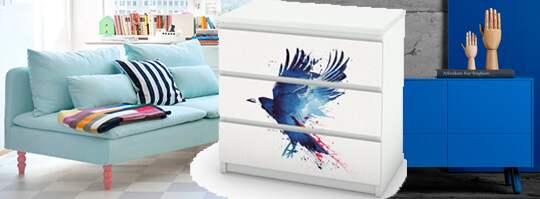 Så pimpar du dina möbler från Ikea! Leva& bo