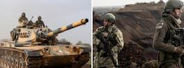 Offensiven i Syrien:  Över 80 dödsoffer