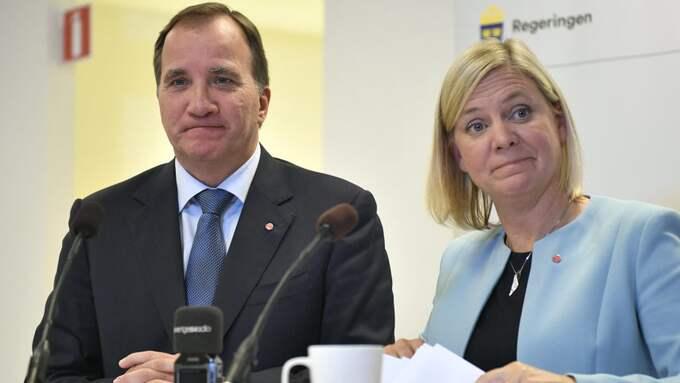 Magdalena Andersson budgetförslag om höjning av ISK-skatten väcker känslor. Foto: VILHELM STOKSTAD/TT