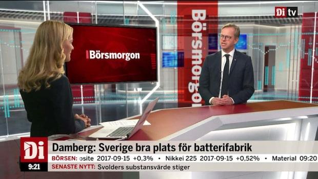 """Näringsministern: """"Då ska man bygga i Sverige"""""""