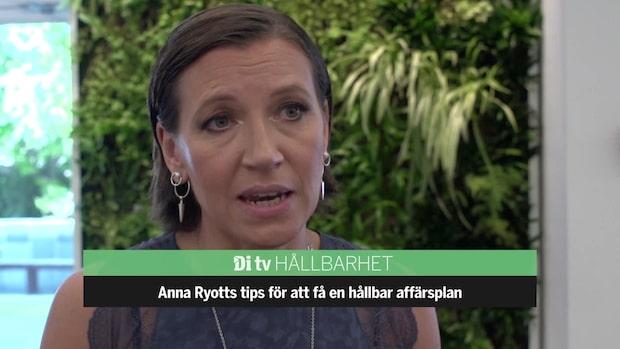 Anna Ryotts tips: Så får du en hållbar affärsplan
