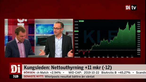 """Hägerstrand om Kungsleden: """"Det kommer bli bra uppgångar idag"""""""