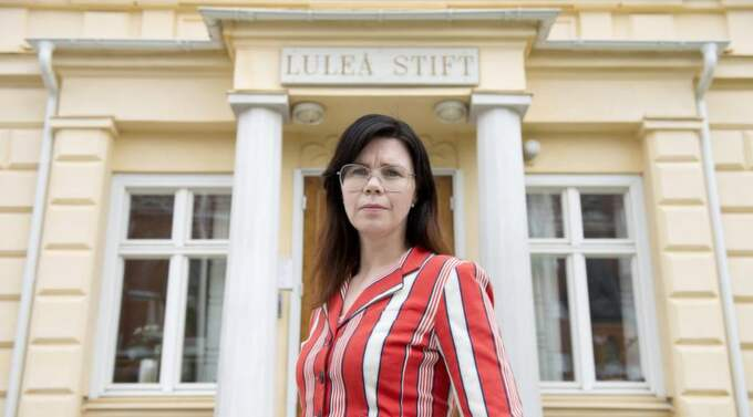 Hittat svar. Stiftsjuristen Anna Wernqvist har tagit del av det skriftliga materialet om Aleksander Radler från Stasi-arkivet i Berlin. Foto: Jens Bäckström