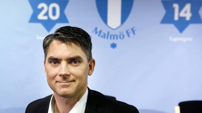 Intresset för arenanamnet är stort, enligt MFF:s vd Niclas Carlnén. Foto: NILS JAKOBSSON / BILDBYRÅN