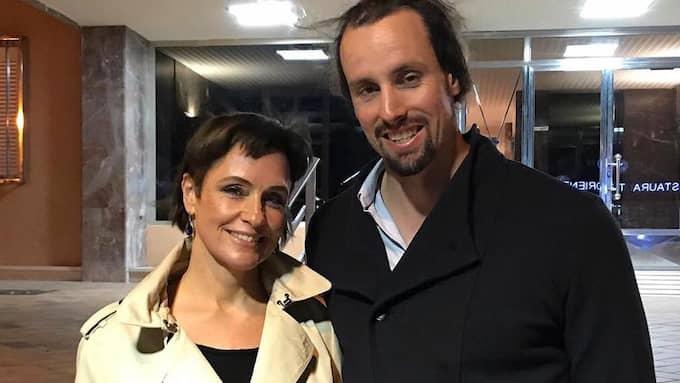 Regina Lund offentliggjorde relationen i ett Facebook-inlägg i november. Foto: /Skärmdump Facebook