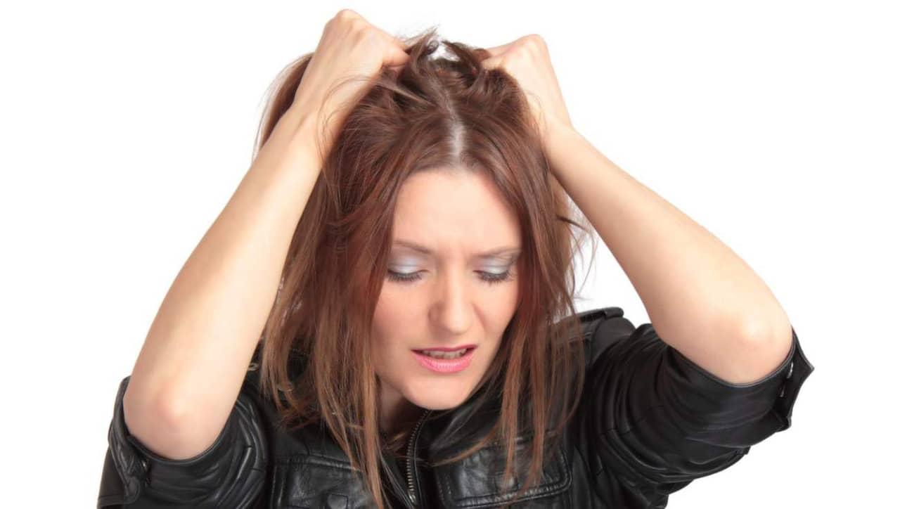husmorstips fett hår