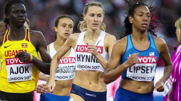 VM-löparen Hedda Hynne blev ihop med sin tränare