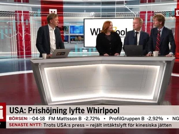 USA: Prishöjning lyfte Whirlpool